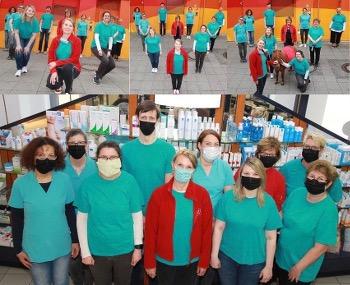 Das Team der Apotheke im Markt-Center